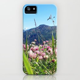 Blossoms in the Italian Alps iPhone Case