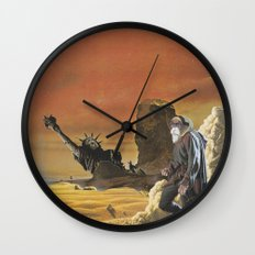 Beware the beast Man, for he is the Devil's spawn Wall Clock