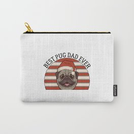 Best Pug Dad Ever Carry-All Pouch