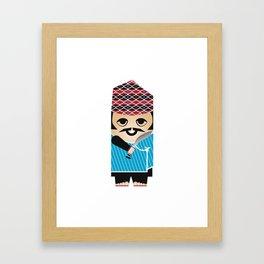 Nepali gurkha Framed Art Print