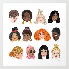 Women's Day 2018 Art Print
