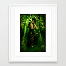 Swinging on a Dream Framed Art Print