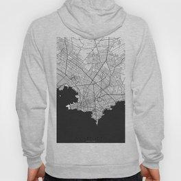 Montevideo Map Gray Hoody