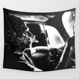 Bukowski's Sunday Drive Wall Tapestry