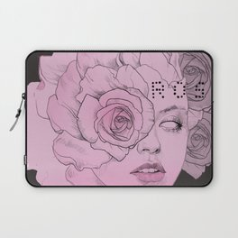 rose black Laptop Sleeve