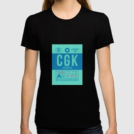 Baggage Tag B - CGK Jakarta Indonesia T-shirt