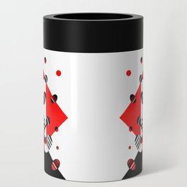 MICROGRAVITY - RED & BLACK Can Cooler