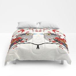 look at me my bird  Comforters