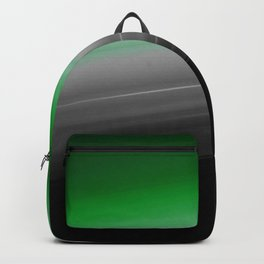 Green Gray Black Ombre Backpack