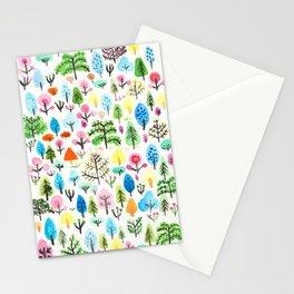 Botanical Garden illustration Stationery Cards