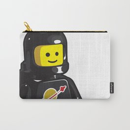 Vintage Black Spaceman Minifig Carry-All Pouch