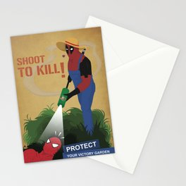 Protect your garden Stationery Cards