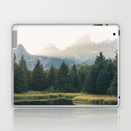 Morning at the lake Laptop & iPad Skin