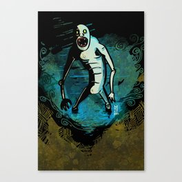 It's Just A Fluke, Man Canvas Print