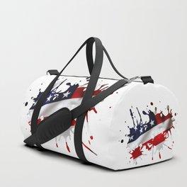 Stars and Stripes Splatter Duffle Bag