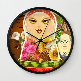 Diversity of Summer Wall Clock