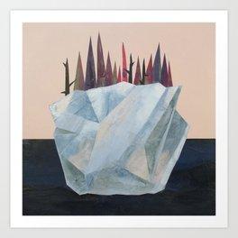 Iceberg of Solitude Art Print