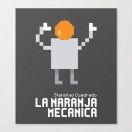 La Naranja Mecánica Canvas Print