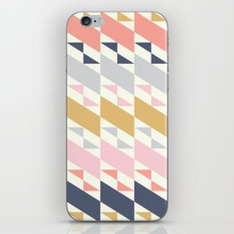 Colorful Diagonals iPhone Skin