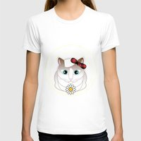 halo T-shirts featuring Halo Pili by Pilar Andres