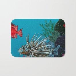 Scorpion & Bigeye fishes Bath Mat