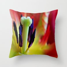 The Flame Within Throw Pillow