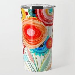 Ruth Fitta-Schulz  - Watercolour Floral Wedding Wedding Travel Mug