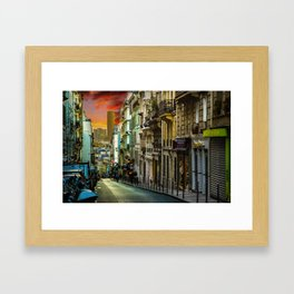 Colors of Paris Framed Art Print