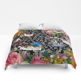 One Kiss Comforters