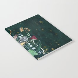 Mushroom night moth Notebook