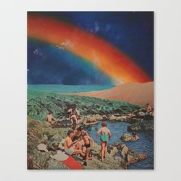Magic Healing Canvas Print