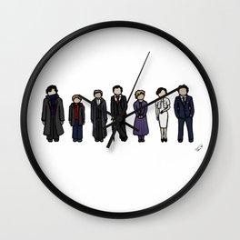 Characters of Sherlock Wall Clock