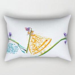 Scottish Bluebell BoPeep Rectangular Pillow