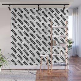 Badass Reverse | Pattern Art Wall Mural