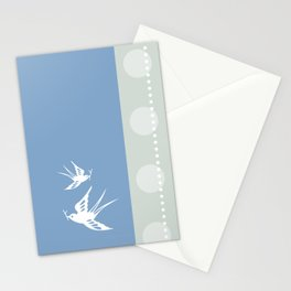 Your indies swallows Stationery Cards