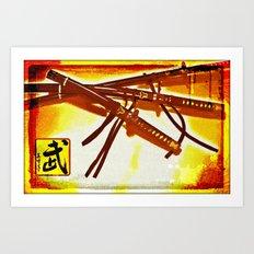 Warrior's Spirit Art Print