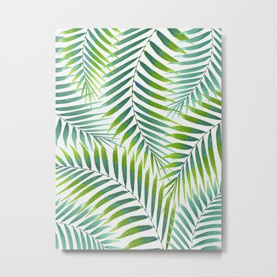 Palm leaves VI Metal Print