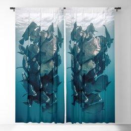 Fish School Blackout Curtain