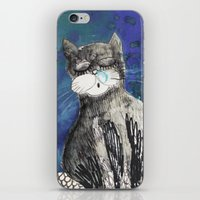 kittens iPhone & iPod Skins featuring kittens by Agata Kowalska