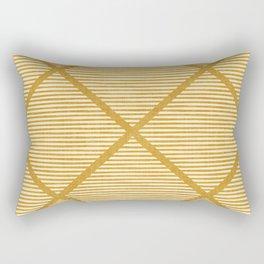 Chisel In Gold Rectangular Pillow
