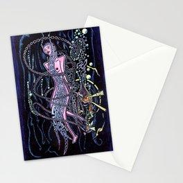Smoking Underwater Stationery Cards