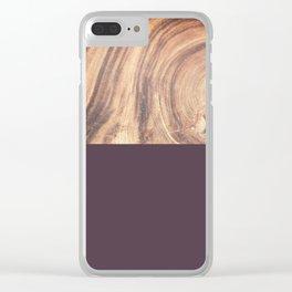1/2 W Clear iPhone Case