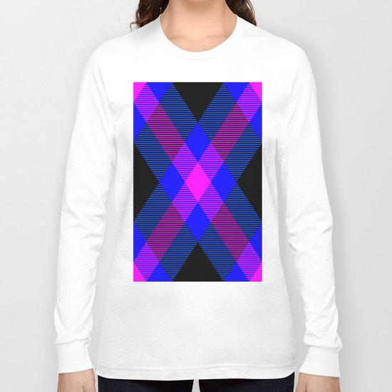 Tartan Pattern 4 Long Sleeve T-shirt