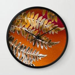 Autumn Daydream Wall Clock