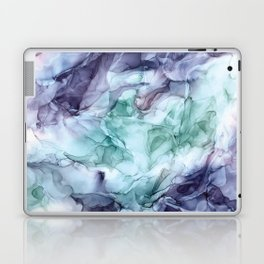 Growth- Abstract Botanical Fluid Art Painting Laptop & iPad Skin