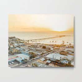 Ocean Beach Pier - San Diego Metal Print