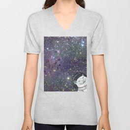 Extraterrestrial Charlie Unisex V-Neck
