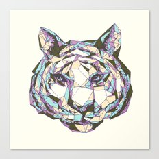 Crystal Tiger Canvas Print