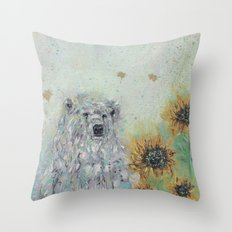 I'll be here, look for me.. Throw Pillow
