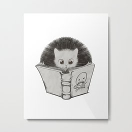 Hair Raising Metal Print